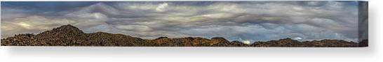 Copycat Clouds Canvas Print