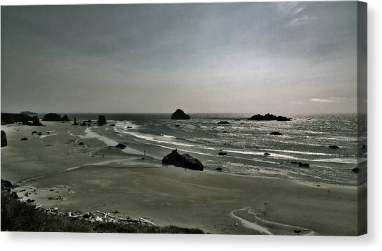 Coquille Point Iv Canvas Print