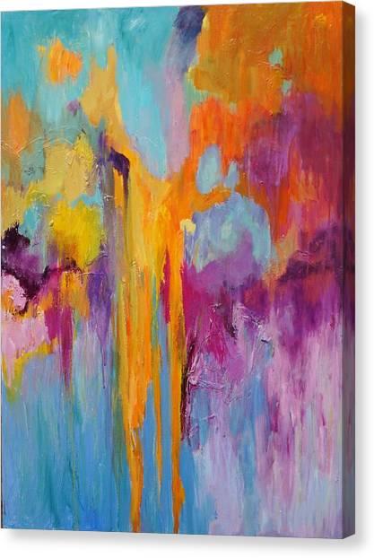 Coral Fanstasy Canvas Print