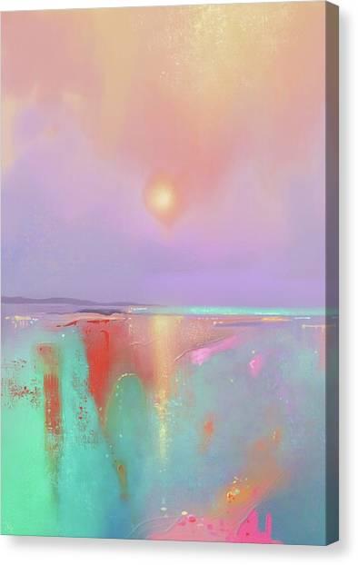 Coral Shores Canvas Print