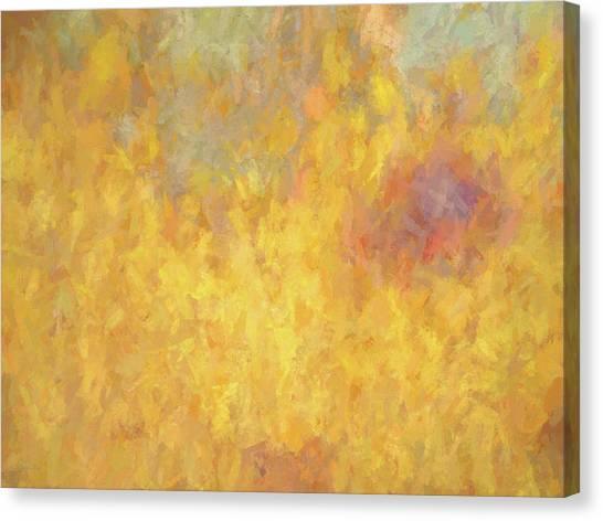 Corazon En Fuego Canvas Print by David King