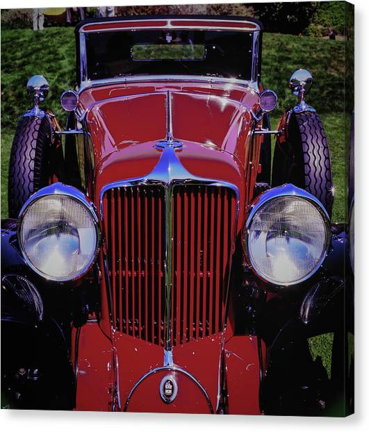 Canvas Print featuring the photograph Cord Coupe by Samuel M Purvis III