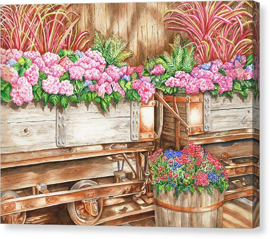 Cordelia's Train Canvas Print