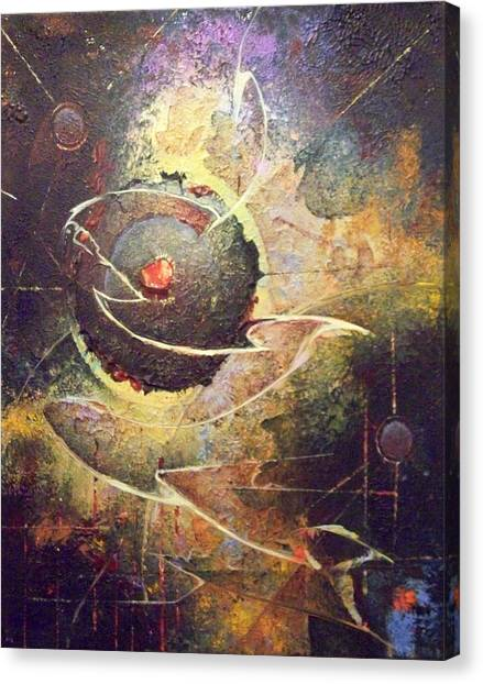 Core Canvas Print by Fred Wellner