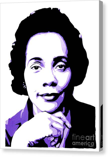 Coretta Scott King Canvas Print