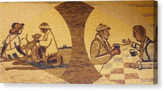Indian Corn Canvas Print - Corn Art At Corn Palace 05 by Art Spectrum