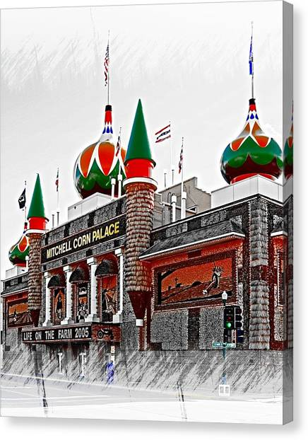Corn Palace South Dakota Canvas Print