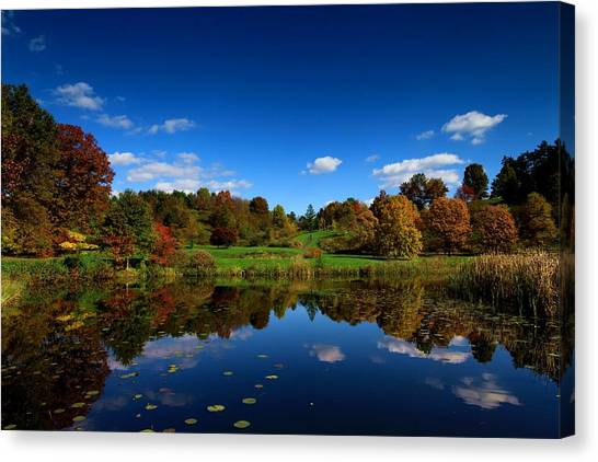 Cornell University Canvas Print - Cornell Arboretum by Paul Ge