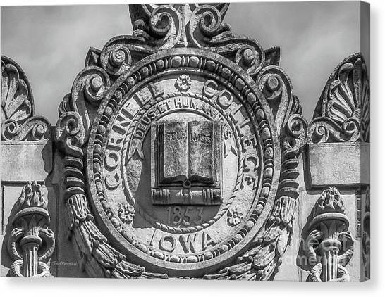 Cornell University Canvas Print - Cornell College Seal by University Icons