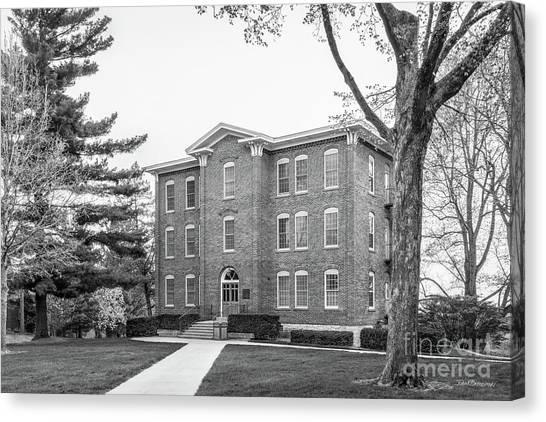 Cornell University Canvas Print - Cornell College South Hall by University Icons