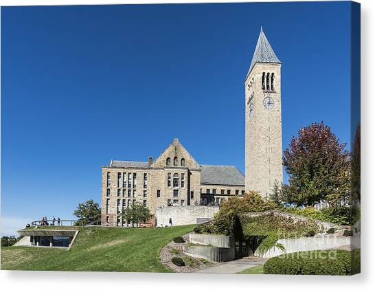 Cornell University Canvas Print - Cornell University Campus by John Greim