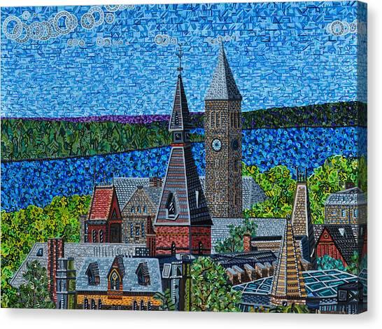 Ivy League Canvas Print - Cornell University by Micah Mullen