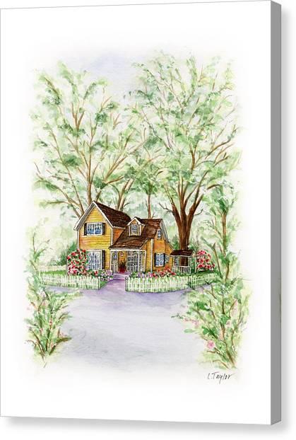 Corner Charmer Canvas Print