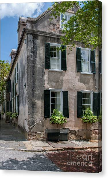 Stucco Over Brick Canvas Prints | Fine Art America