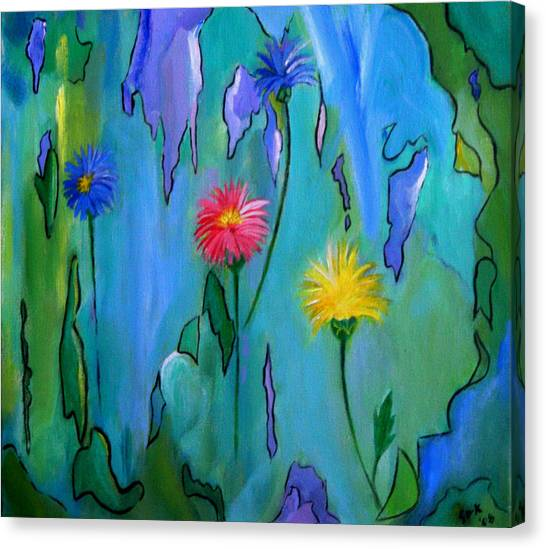 Cornflowers Canvas Print