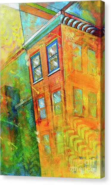 Buildings Canvas Print - Cornice by Christopher Triner
