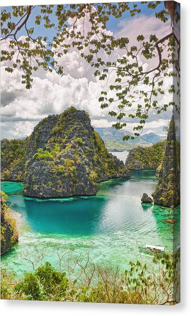 Islands Canvas Print - Coron Lagoon by MotHaiBaPhoto Prints