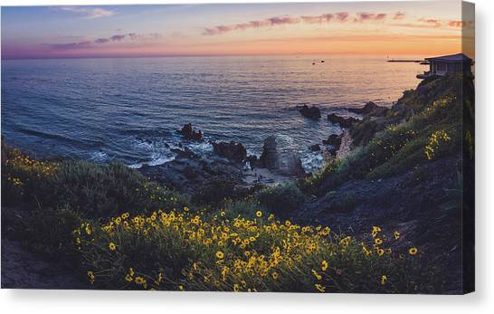 Corona Del Mar Super Bloom Canvas Print