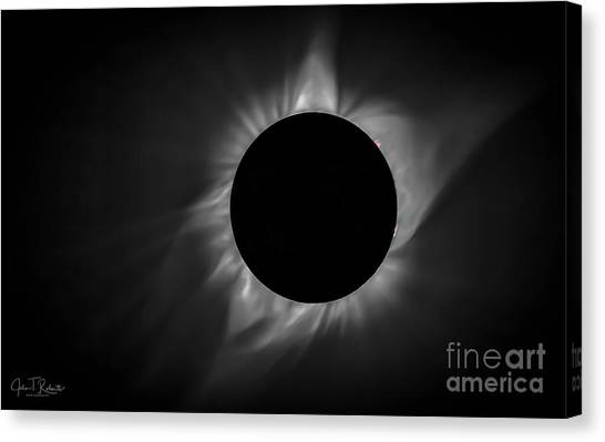 Corona During Total Solar Eclipse Canvas Print