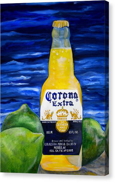 Corona Canvas Print by Patti Schermerhorn