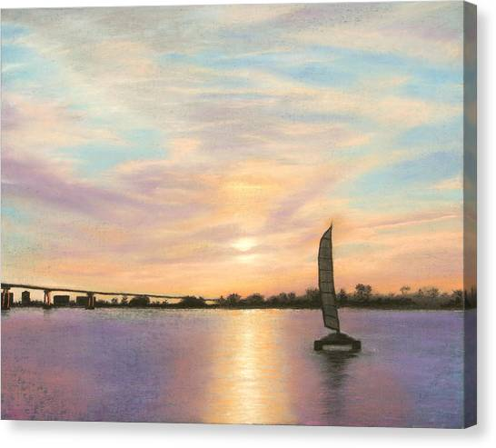 Coronado Bridge Sunset  B Canvas Print