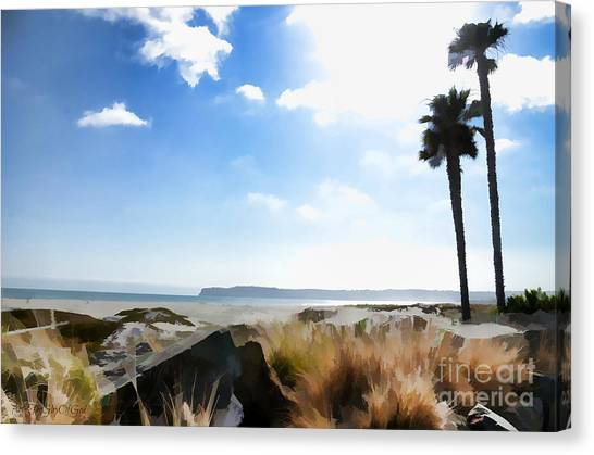 Coronado - Digital Painting Canvas Print