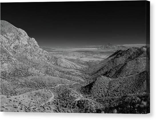 Coronado National Memorial In Infrared Canvas Print