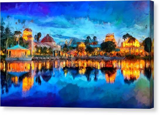 Coronado Springs Resort Canvas Print