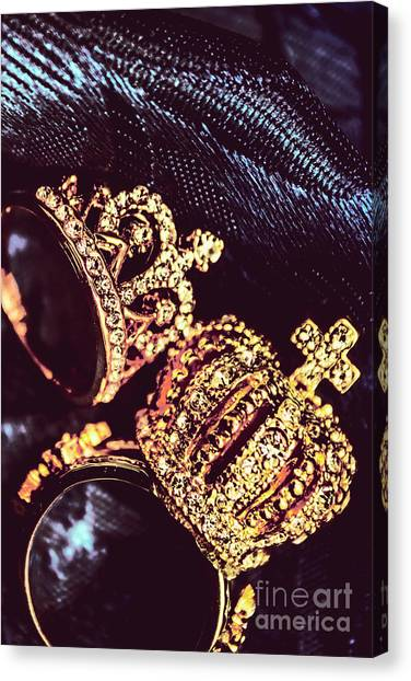 Bridal Canvas Print - Coronation Of Jewels by Jorgo Photography - Wall Art Gallery