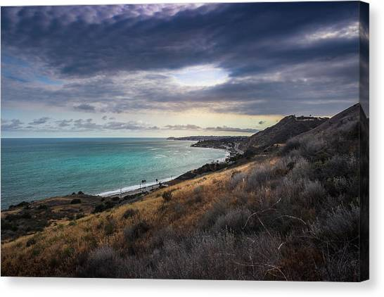 Corral Canyon Malibu Trail Canvas Print