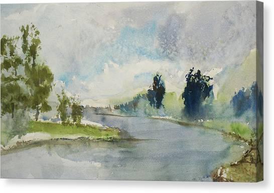 Corte Madera Creek1 Canvas Print
