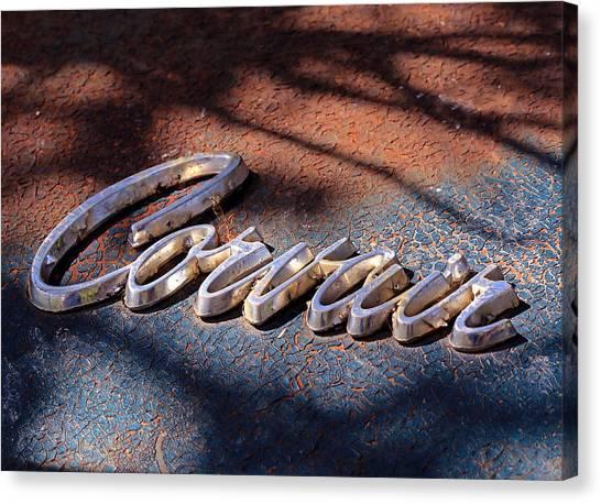 Corvair Emblem Canvas Print