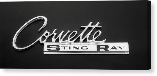 Corvette Sting Ray  Canvas Print