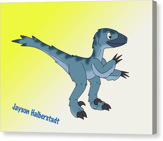 Cory The Raptor Canvas Print