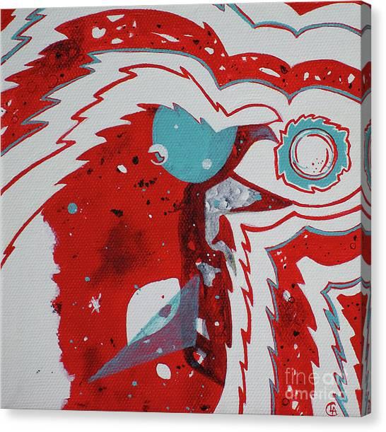 Cosmic Corvid Canvas Print
