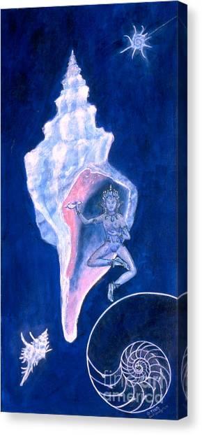 Cosmic Dancer Canvas Print