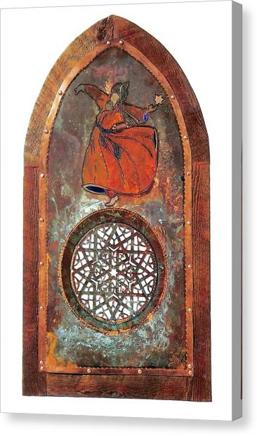 Cosmic Dervish Canvas Print