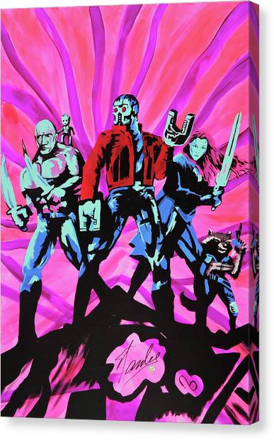 Cosmic Guardians Of The Galaxy 2 Canvas Print