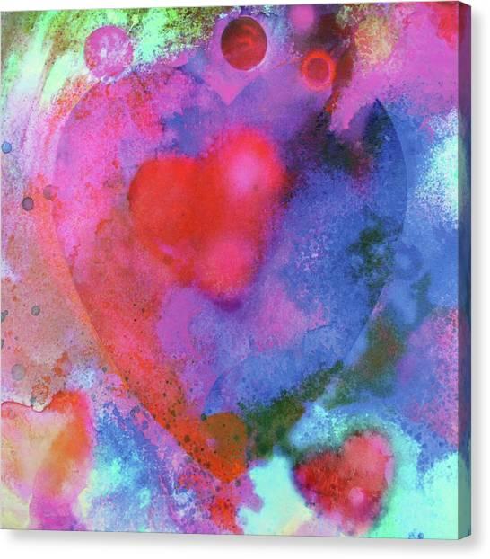 Cosmic Love Canvas Print