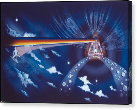 Cosmic Mediator Canvas Print