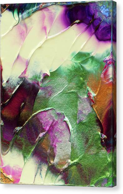 Cosmic Pearl Dust Canvas Print