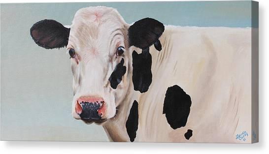Cosmoo Cow Canvas Print