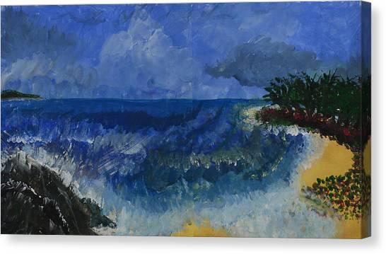 Costa Rica Beach Canvas Print