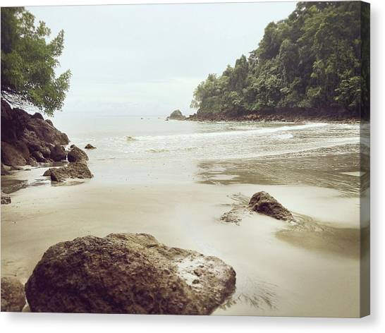 Canvas Print featuring the photograph Costa Rica by Lucian Capellaro