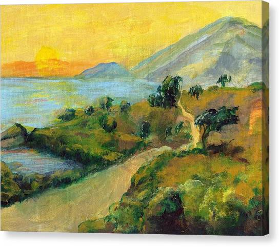 Costa Rica Sunset Canvas Print