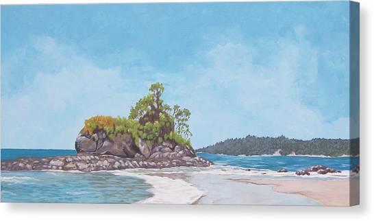 Costa Rican Coast Canvas Print