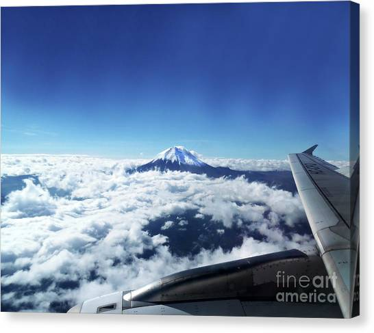 Cotopaxi Canvas Print - Cotopaxi The Beautiful by Al Bourassa