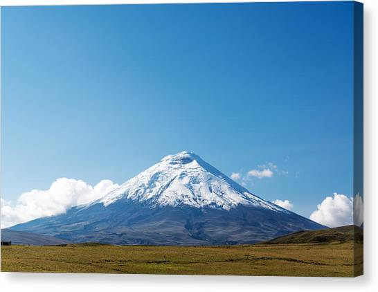 Cotopaxi Canvas Print - Cotopaxi Volcano by Jess Kraft