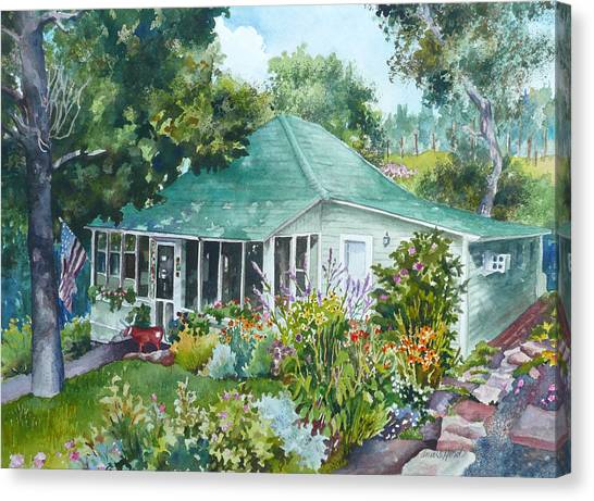 Cottage At Chautauqua Canvas Print