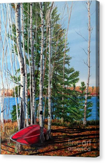 Cottage Country 2 Canvas Print